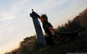 Coud Strife at Lucca Comics and Games 2011 by EduardLuzhetskiy