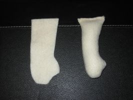 Plush Arm before and After by MollyDollies