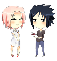 How sweet of you Sasuke kun by pepperlicious