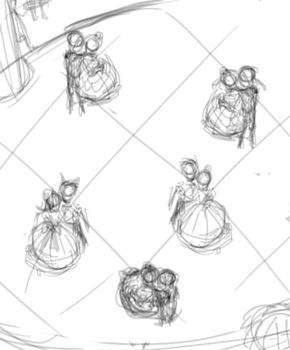 101 Knights: A Night at the Ball (animatic) by crab-pinches