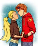 Wally and Artemis by Grimmby