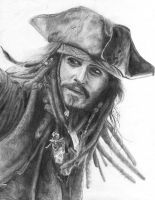Jack Sparrow by N00dleIncident