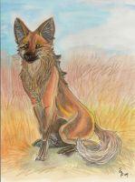 Maned Wolf by Eviecats