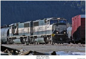 BNSF 9573 +9469 by hunter1828