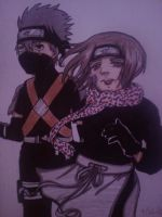 Kakashi and Rin: Remembrance by Millie-Rose13