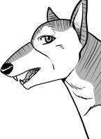 Random Ginga Manga Dog by DangerousBallOfFur