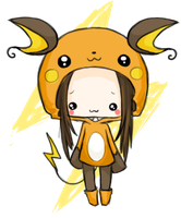 chibi - raichu by linkitty