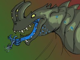My attempted on Otachi ( Pacific Rim) by kibadoglover45