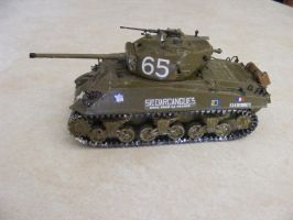 M4A3 Sherman Tank model by Were-Owl