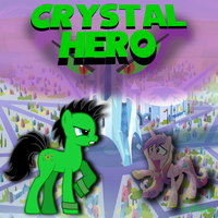 Crystal Hero cover art by AtomicPhoton