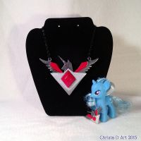 Alicorn Amulet Pendant by ChrisWithATa