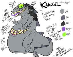 Kaaziel ref sheet by Kaaziel