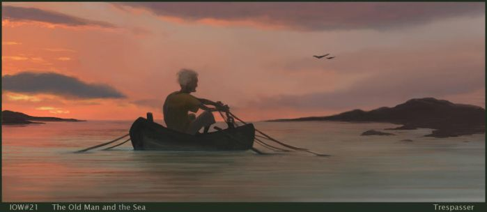The Old Man and the Sea by oakenvial