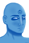 WATCHMEN: Dr. Manhattan by cosartmic