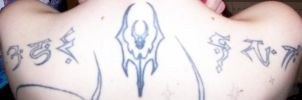 My Legacy of Kain tattoos by Lucinvampire