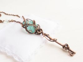 Ice key pendant by UrsulaOT