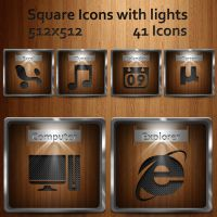 Square with Lights by dwrowan