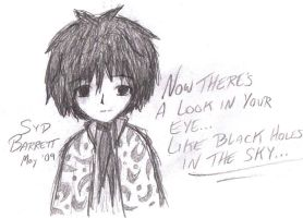 SYD BARRETT...? by little-ampharos