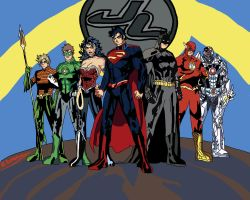 Justice League of America by SomeShortGuy