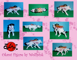Okami Figure SOLD by WolfPink