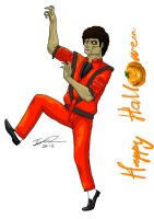 Happy Halloween - Michael Jackson Thriller by MangleDangle