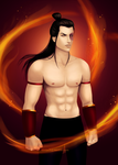 Fire Lord Zuko by sirene312