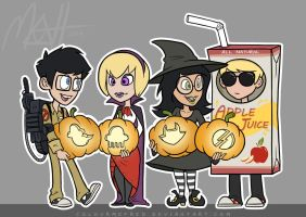 A Homestuck Halloween by colourmefred