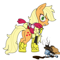Dead Rising - Psychopath Applejack Greene by MattX16