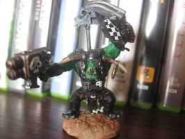 Warhammer 40K miniature painting Ork Boyz 1 by SelloCreations