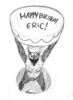 Happy Bday Eric from Kakashi by Valliegurl