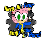 Have No Fear Amy Rose Is Here (Fallout) by 3Bros1Mission