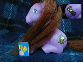 Custom Ritsu My Little Pony by Mizaya