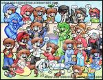 The Annual Mario Convention by BabyAbbieStar