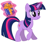 Twilight Sparkle - With a Book by Liggliluff