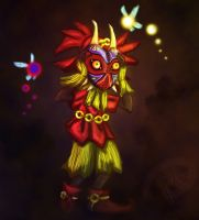 Skull Kid Speed Paint by Sh3ikha
