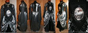 Morbid Elizabeth Tudor Dress by MADmoiselleMeli