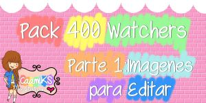 +Pack 403 Watchers y 5.672 Pagieviews Parte1 by CaamiKS