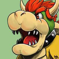 Daily Sketches Bowser by fedde
