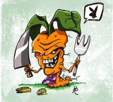 Hungry Carrot by JordiHP