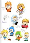 South Park Doodels by vinylchy