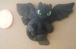 toothless the dragon two by LeluDallas