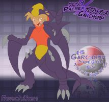 Palmer X Garchomp Living Suit by monchiken