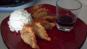 Pseudo fried gyoza by FutureChefHaku