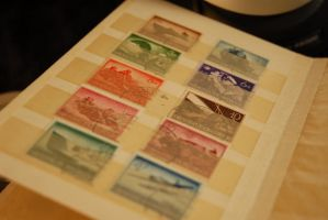 German Stamps by Bressom