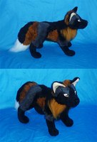 Cross fox plush : finished by goiku