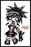 ++Zombie Chibi Colored++ by ScaryFace