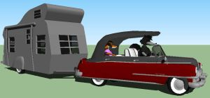 deluxe toy cadillac and mobile playhouse 2 by 1970superbird
