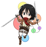 Mikasa by Endless-Mittens