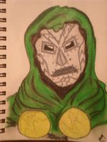 DR DOOM by kylemulsow