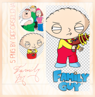 Family Guy PNG Pack (6) by dieforselena